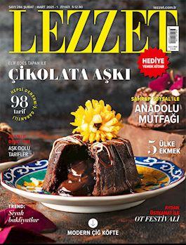 Lezzet Dergisi Şubat-Mart Sayısı
