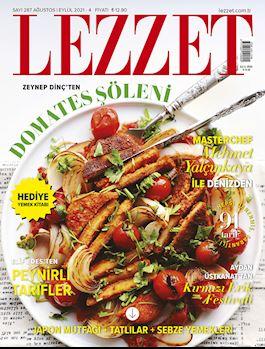 Lezzet Dergisi Ağustos-Eylül Sayısı
