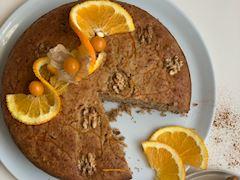 Cevizli portakallı baharatlı kek