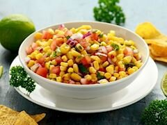 Kırmızı Soğanlı Meksikan Salatası
