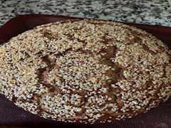 Pekmezli Susamlı Ekmek