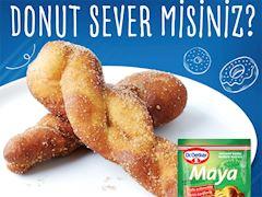 Twisted Donut (Kore Tatlısı)