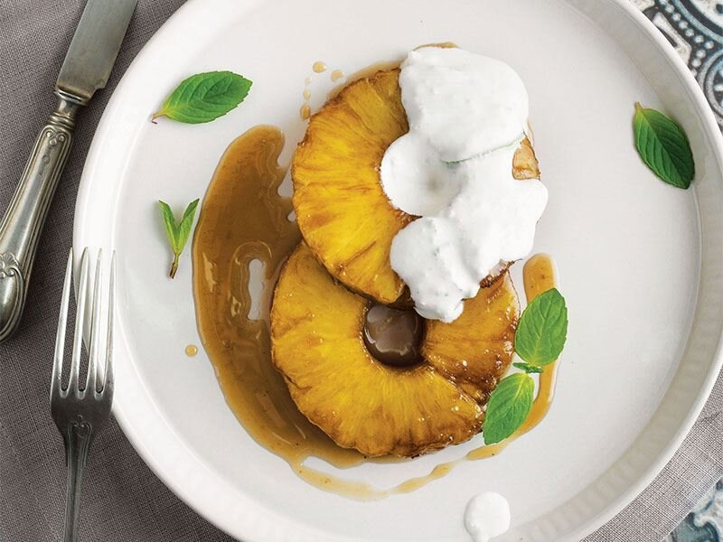 Ananas tatlısı