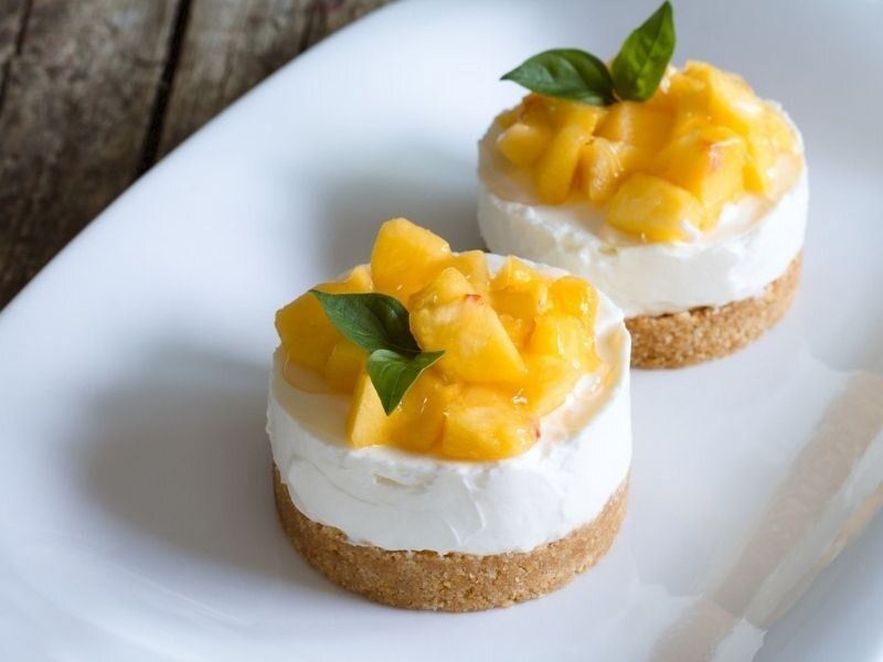 Ananaslı Cheesecake