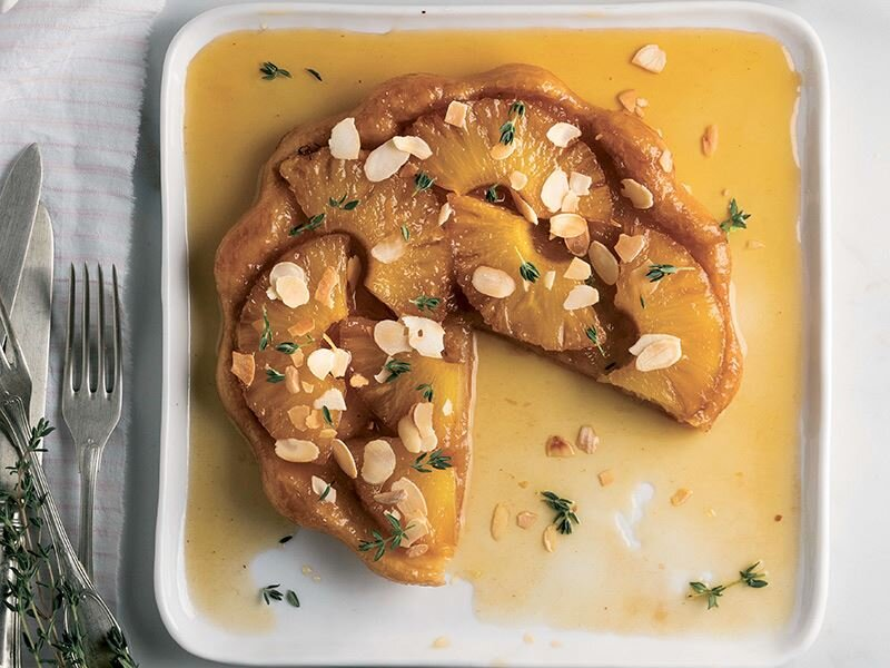 Ananaslı tart tatine