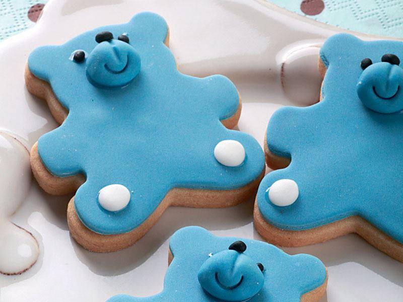 Anasonlu bebek kurabiye