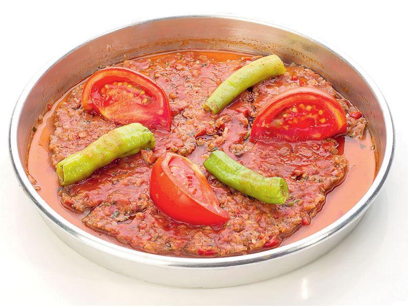 Antakya usülü vegan tepsi kebabı