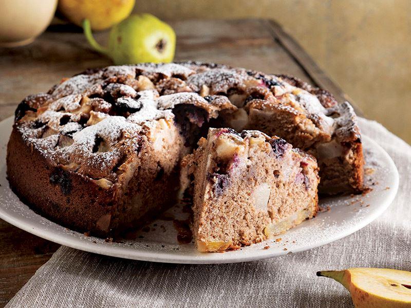 Armutlu ve baharatlı kek