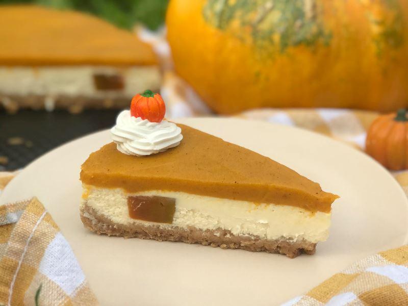 Balkabaklı Cheesecake