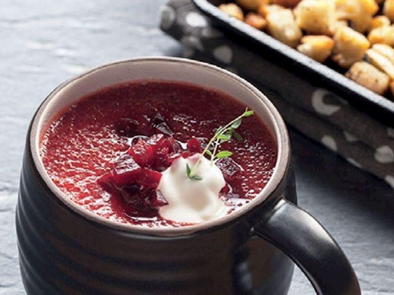 Borsch (Borş) Çorbası