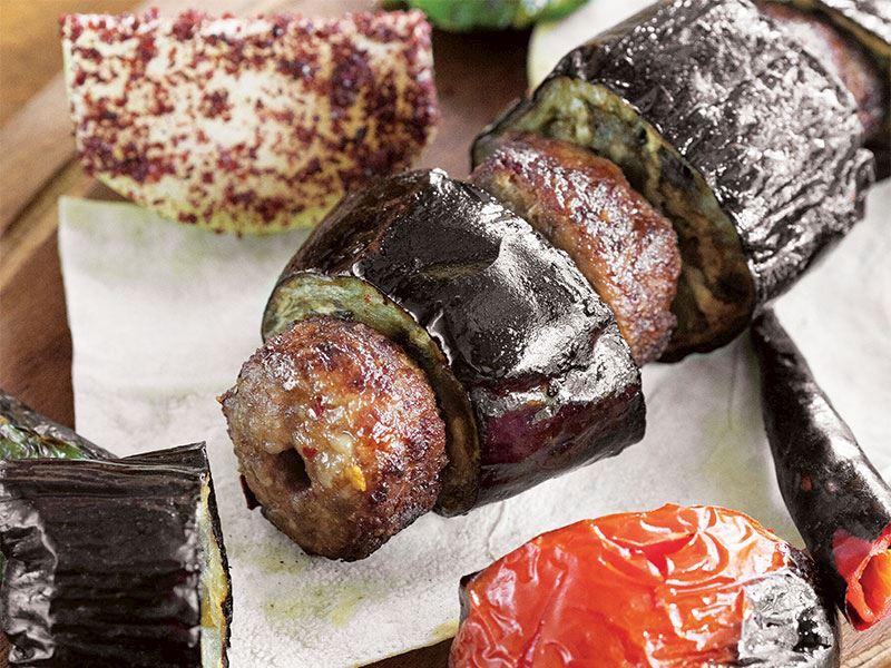 Cabbar usülü patlıcan kebabı