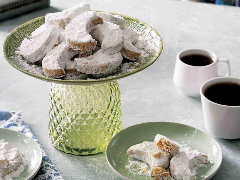 Cevizli Kavala kurabiyesi