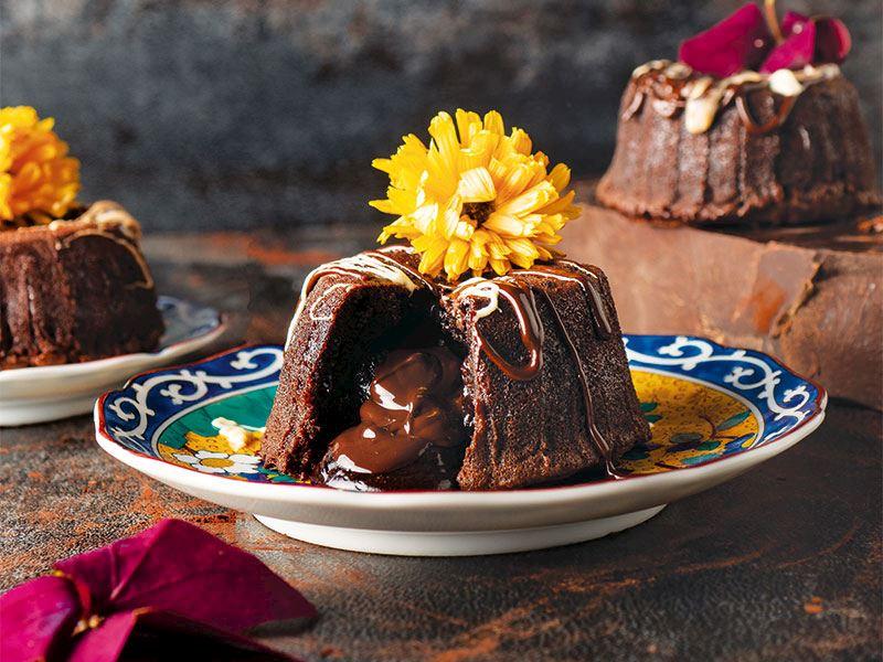 Çikolatalı volcano kek