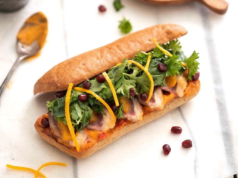 Crois duck sandviç