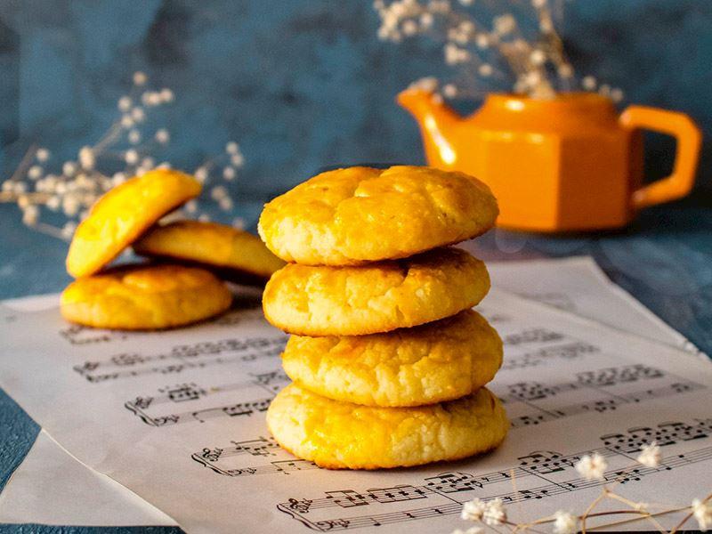 Egeli büyükanne usulü lor kurabiyesi