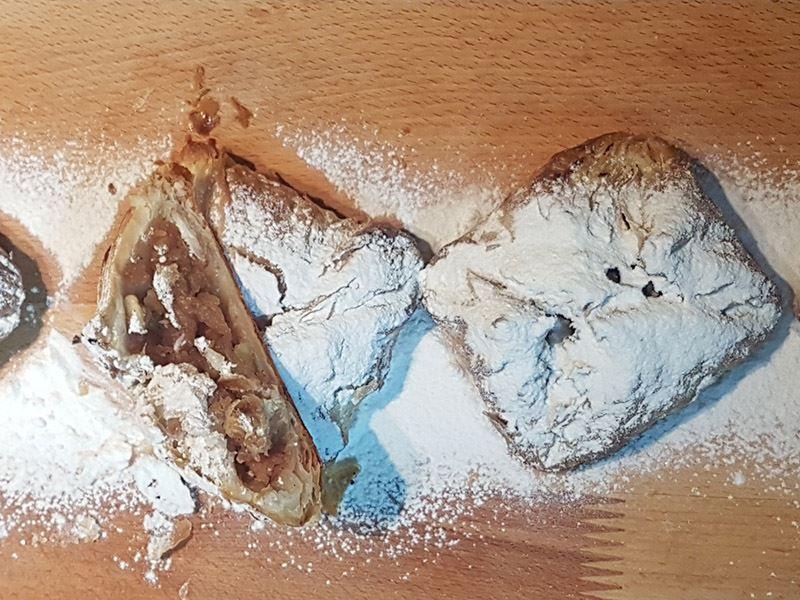 Elmalı milföy kurabiye