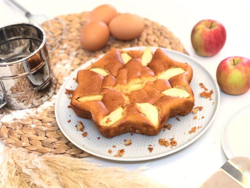 Elmalı Sünger Kek