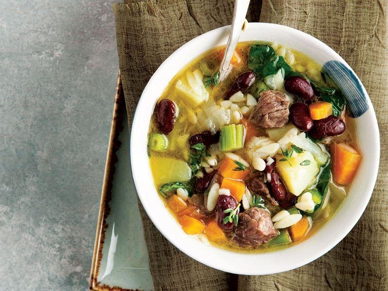 Etli ve sebzeli çorba