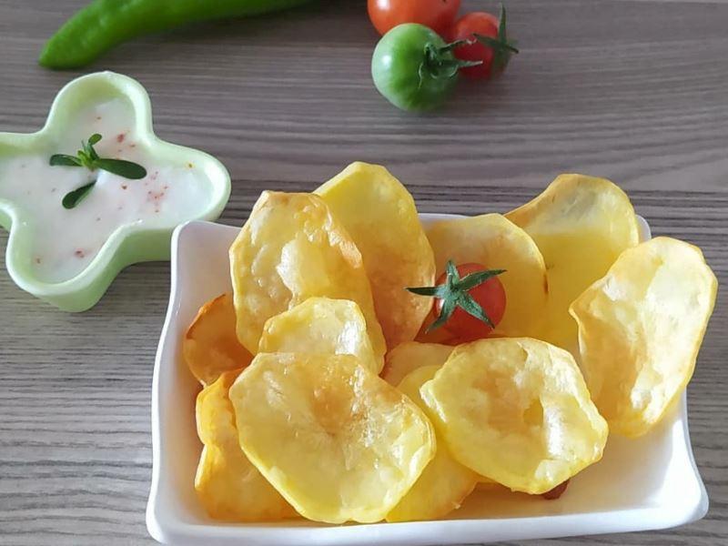 Fırında Patates Cipsi