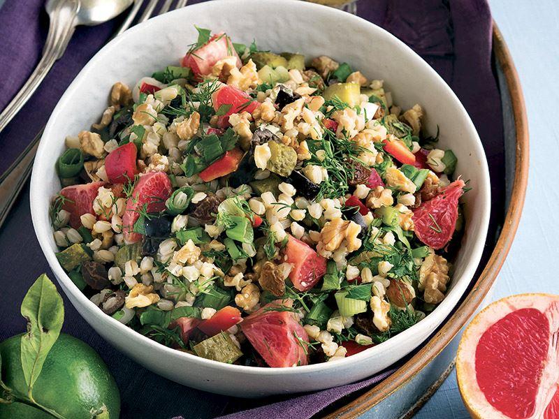 Greyfurtlu buğday salatası