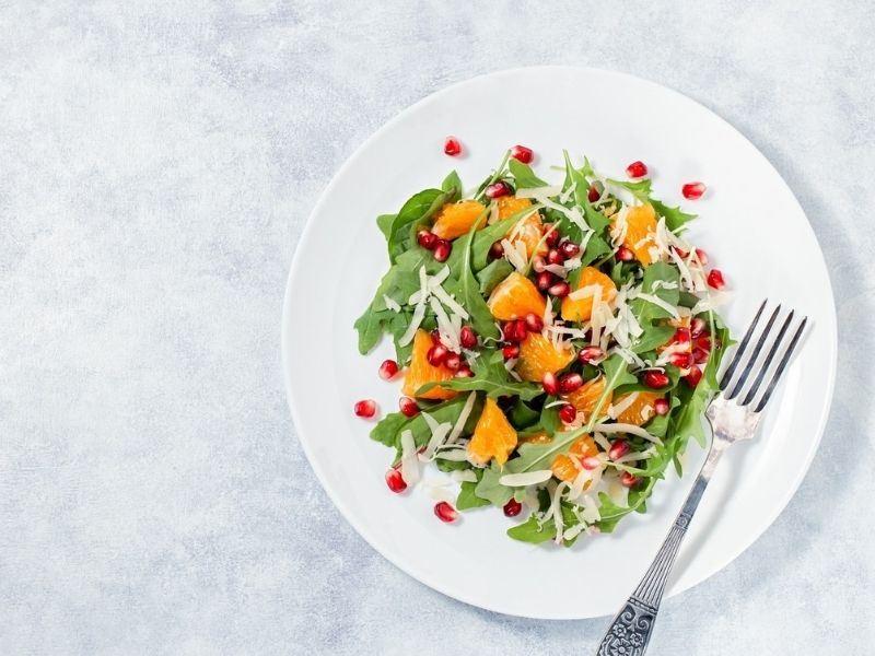 Haşhaşlı Roka Salatası