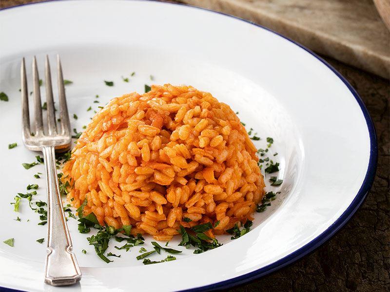 Havuçlu pirinç pilavı