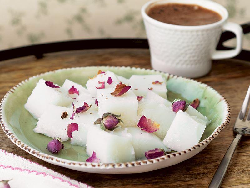 Hindistan cevizi sütü tatlısı
