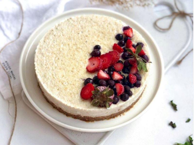İncirli kolay pasta