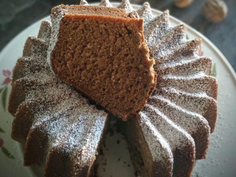 Kahveli çikolatalı tarçınlı efsane kek