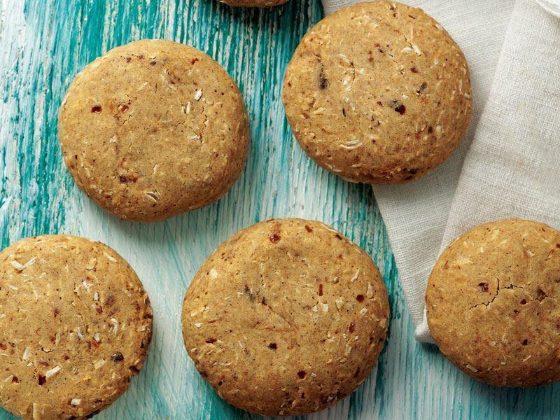 Kakuleli ve zencefilli kurabiye