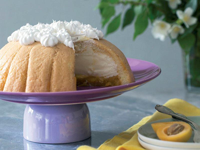 Kedidilli kayısılı kolay pasta