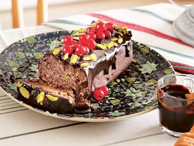 Kestaneli soğuk pasta