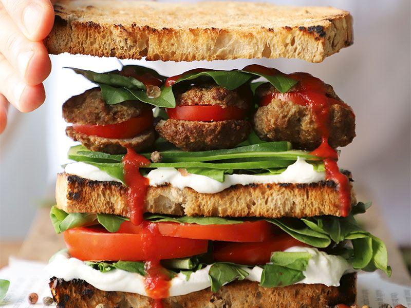 Köfteli sandviç