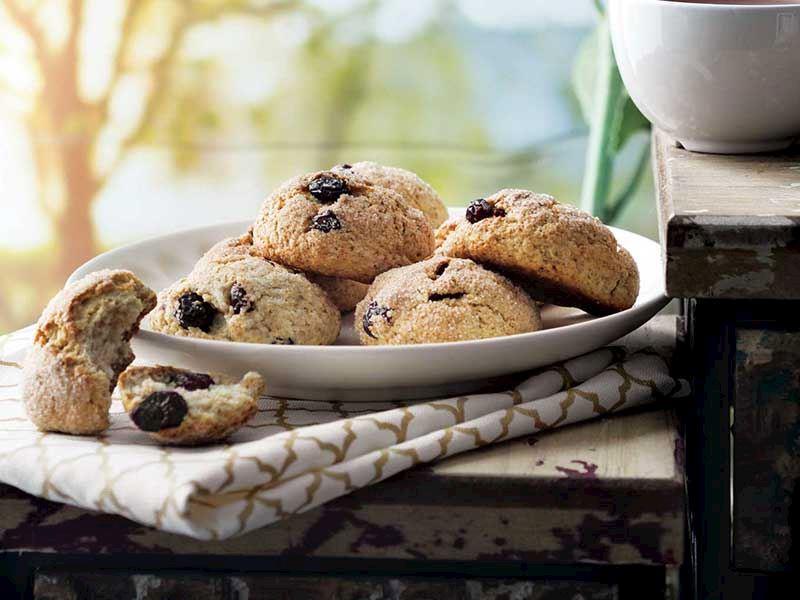 Lorlu ve turna yemişli kurabiye