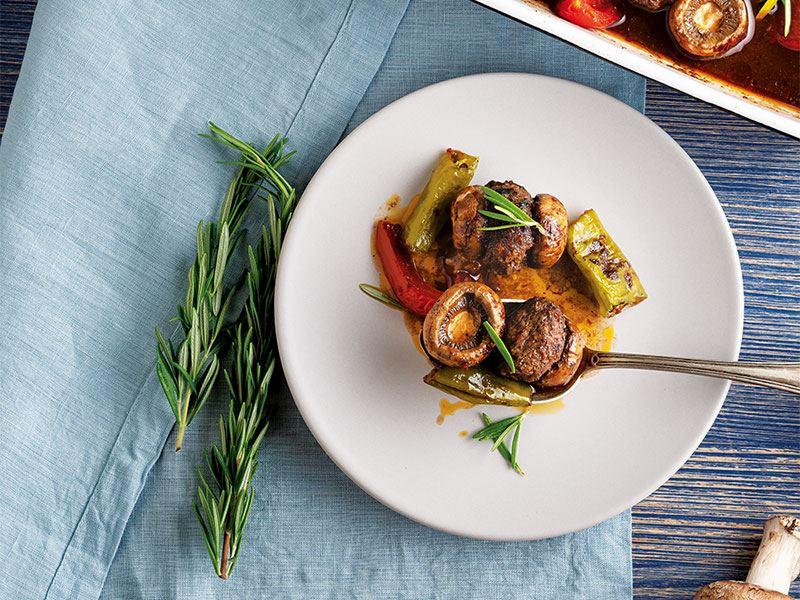 Mantar kebabı