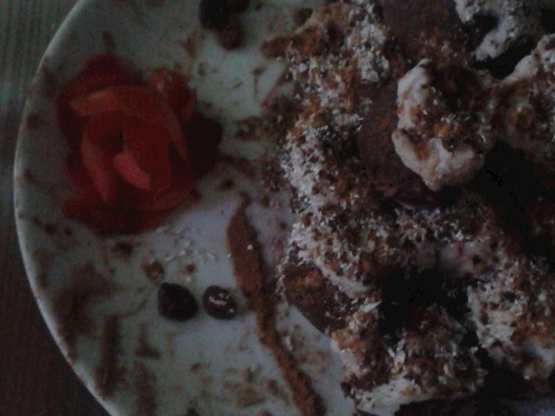 Mantarlı Salçalı tavuklu sulu yemek