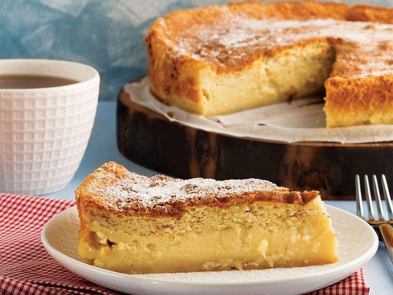 Muz kremalı kek