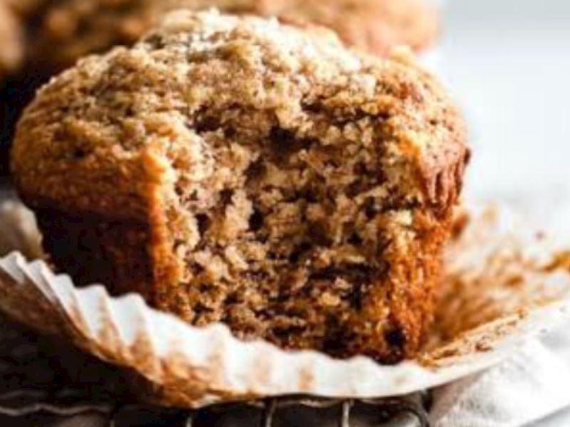 Muzlu cevizli muffin