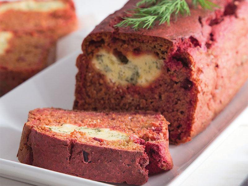 Pancarlı ve krem peynirli ekmek