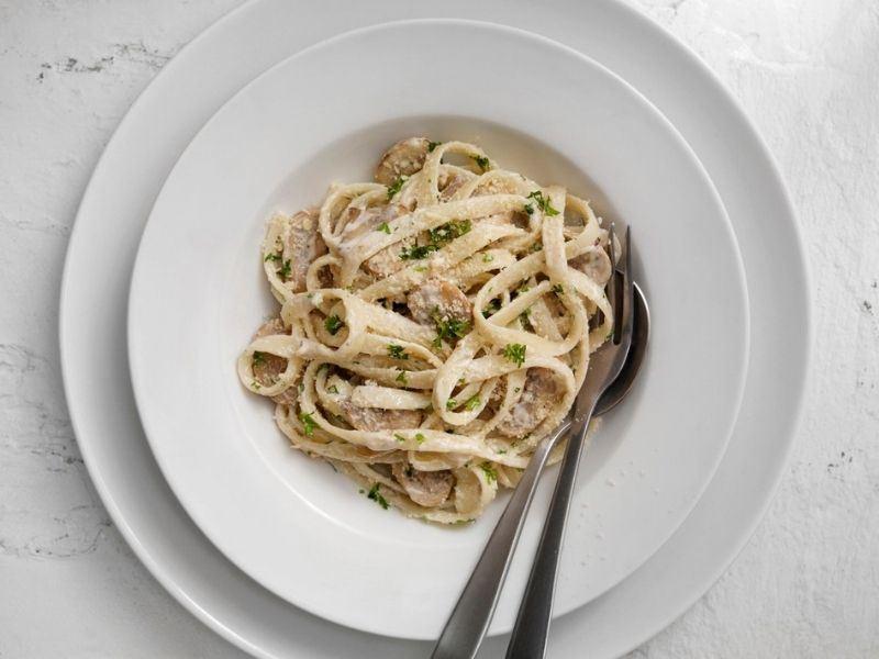 Parmesanlı Trüflü Tagliani