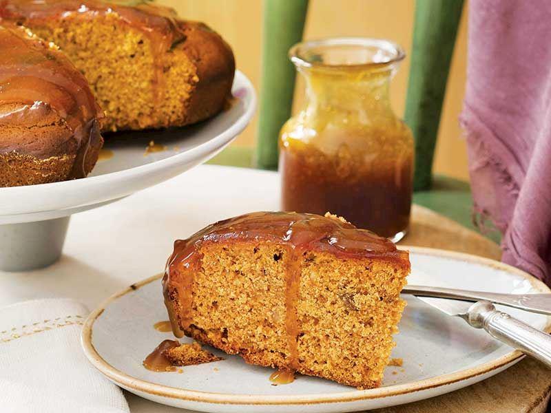 Pekmez soslu kek