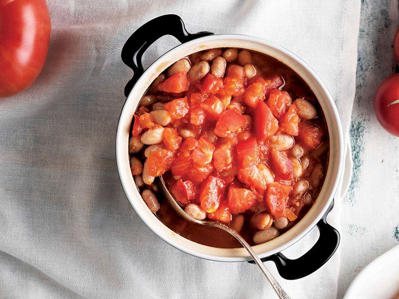 Pembe domatesli barbunya