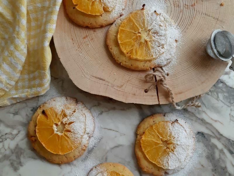Portakallı kurabii
