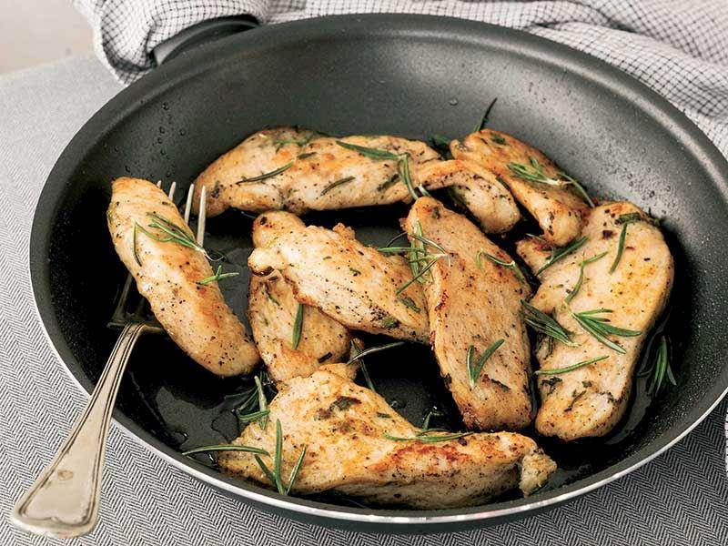 Safranlı tavuk filetolar
