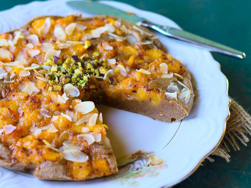 Şeftali yaz keki
