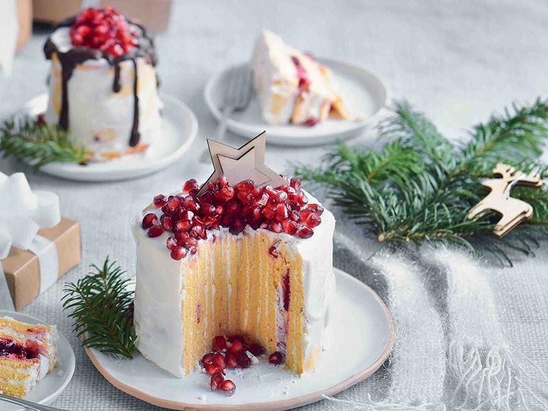 Şekersiz frambuazlı pasta