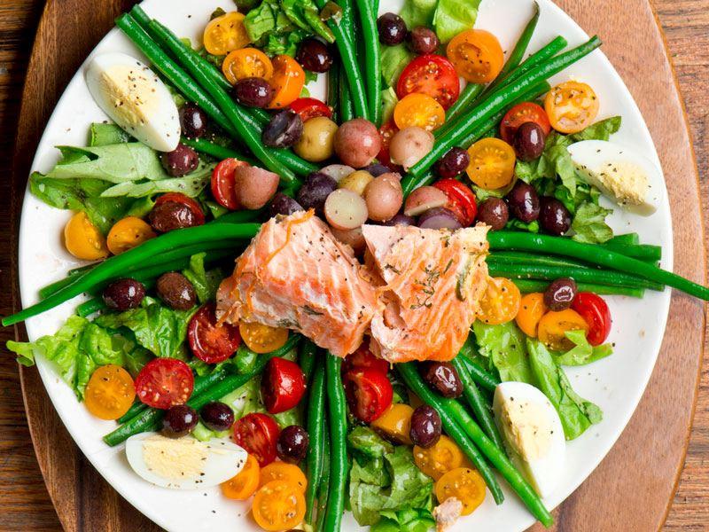 Somonlu Niçoise Salatası