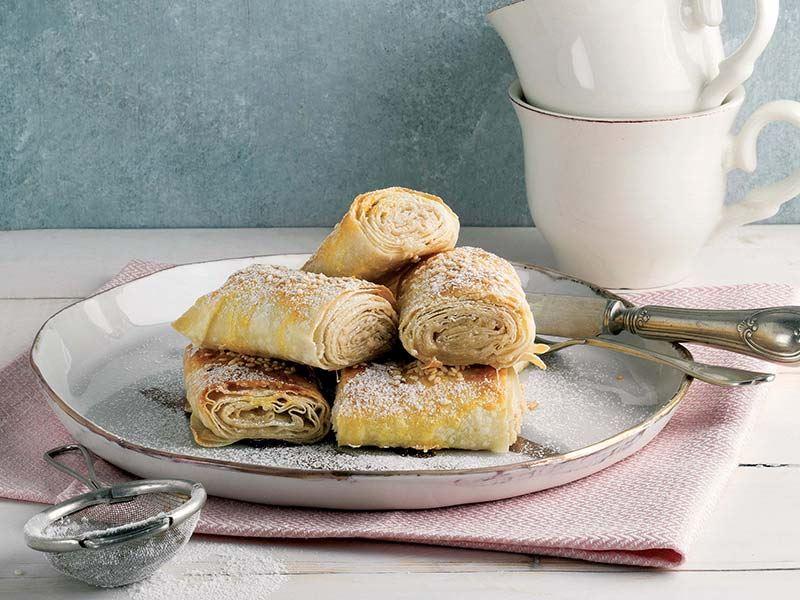 Tahinli tatlı çörek