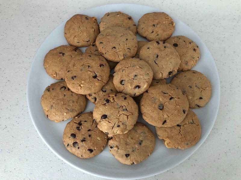 Tarçınlı, Fındıklı ve Çikolatalı Kurabiye