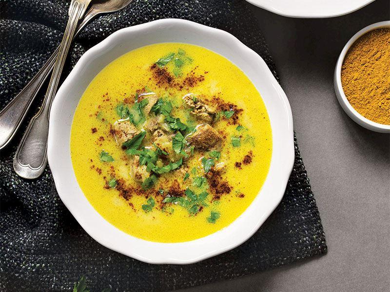 Tarçınlı ve ciğerli çorba